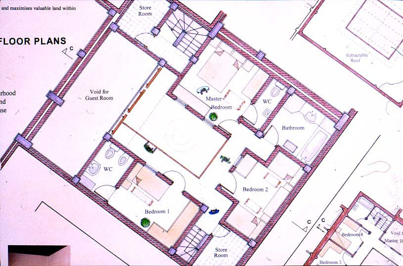 Moroccan home plans house design plans for Moroccan house plans
