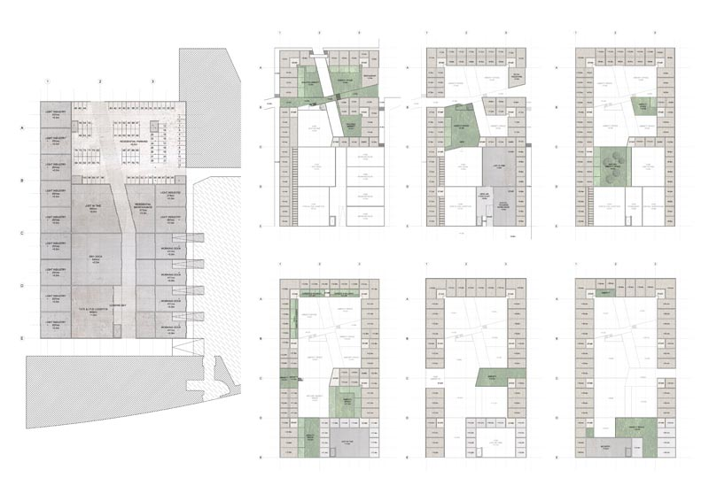 East Elevation Plan : Presidents medals east london family housing modern