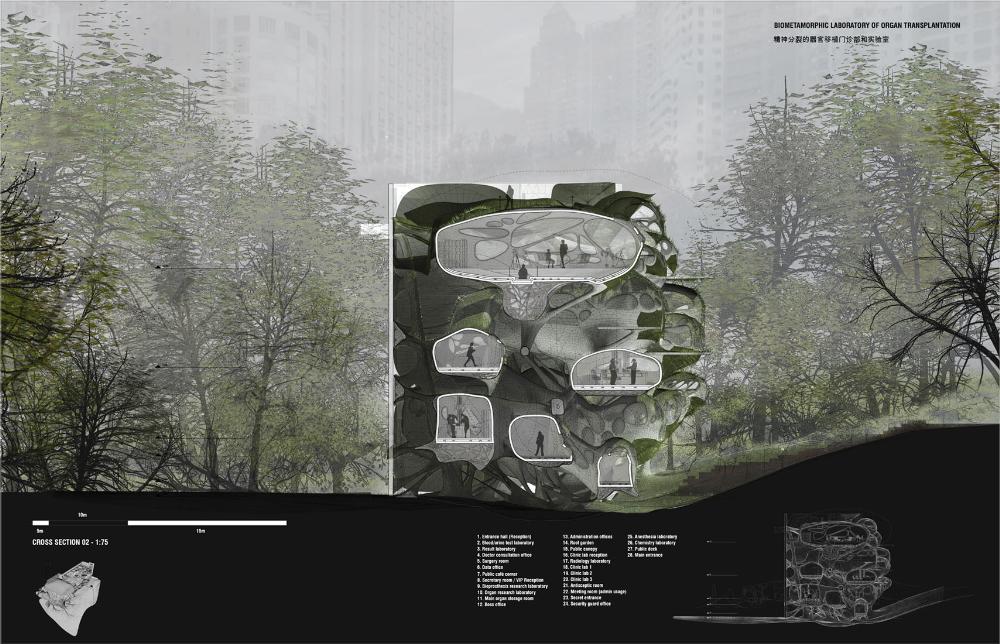 Presidents Medals Biometamorphic Architecture Organ