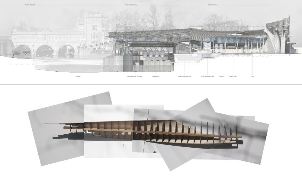 Presidents medals monastere de l eau de vie for Linear architecture design