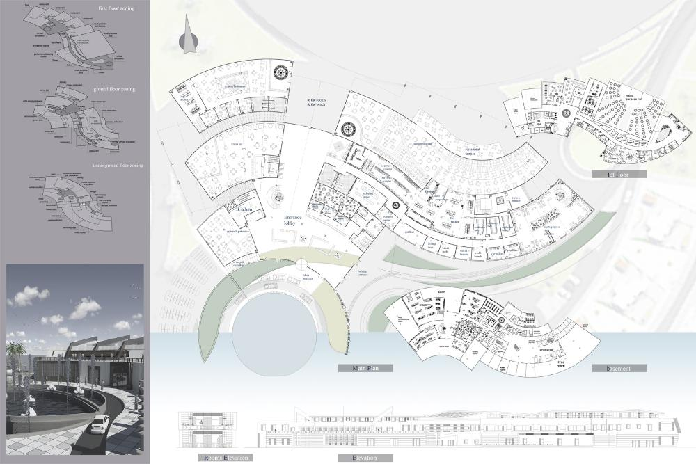 Resort Elevation Plan : Presidents medals think blue maritime life submerged resort
