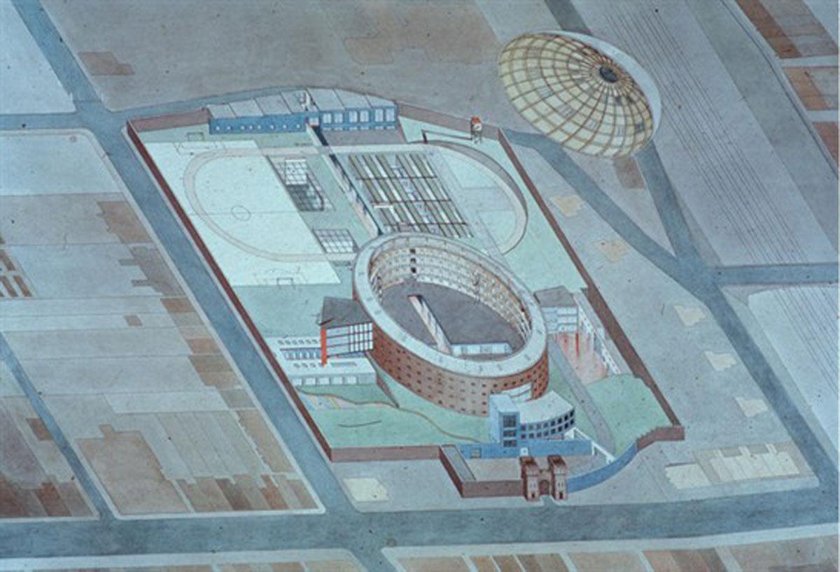 essay on prison architecture