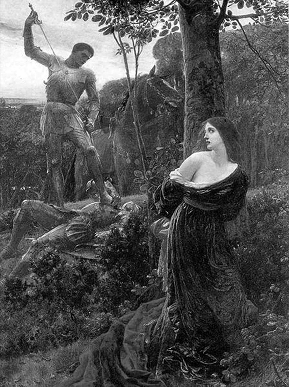 Эро средневековье живопись 17 фотография