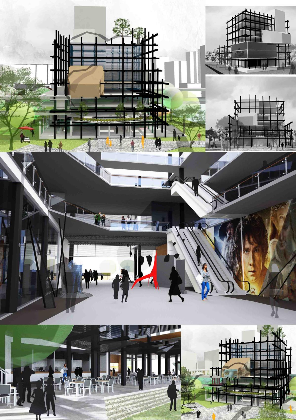 Cinema and Shopping Complex - Slave Island, Colombo 2