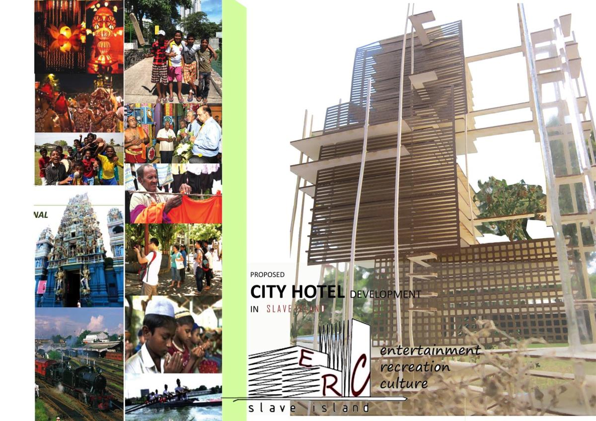 Entertainment, recreational & cultural development - city hotel - Slave Island, Colombo 2