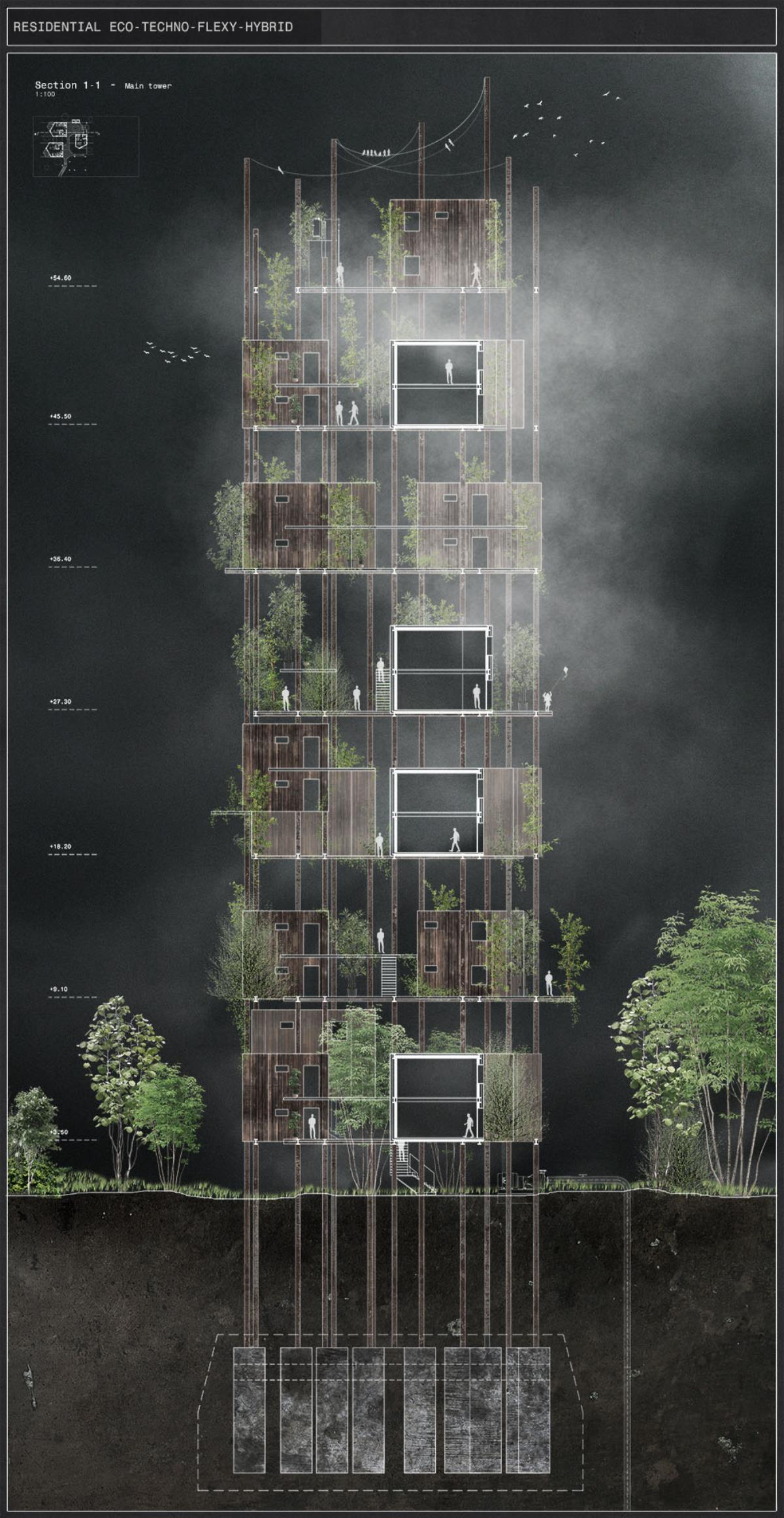 Presidents medals residential eco techno flexy hybrid for Architecture hybride