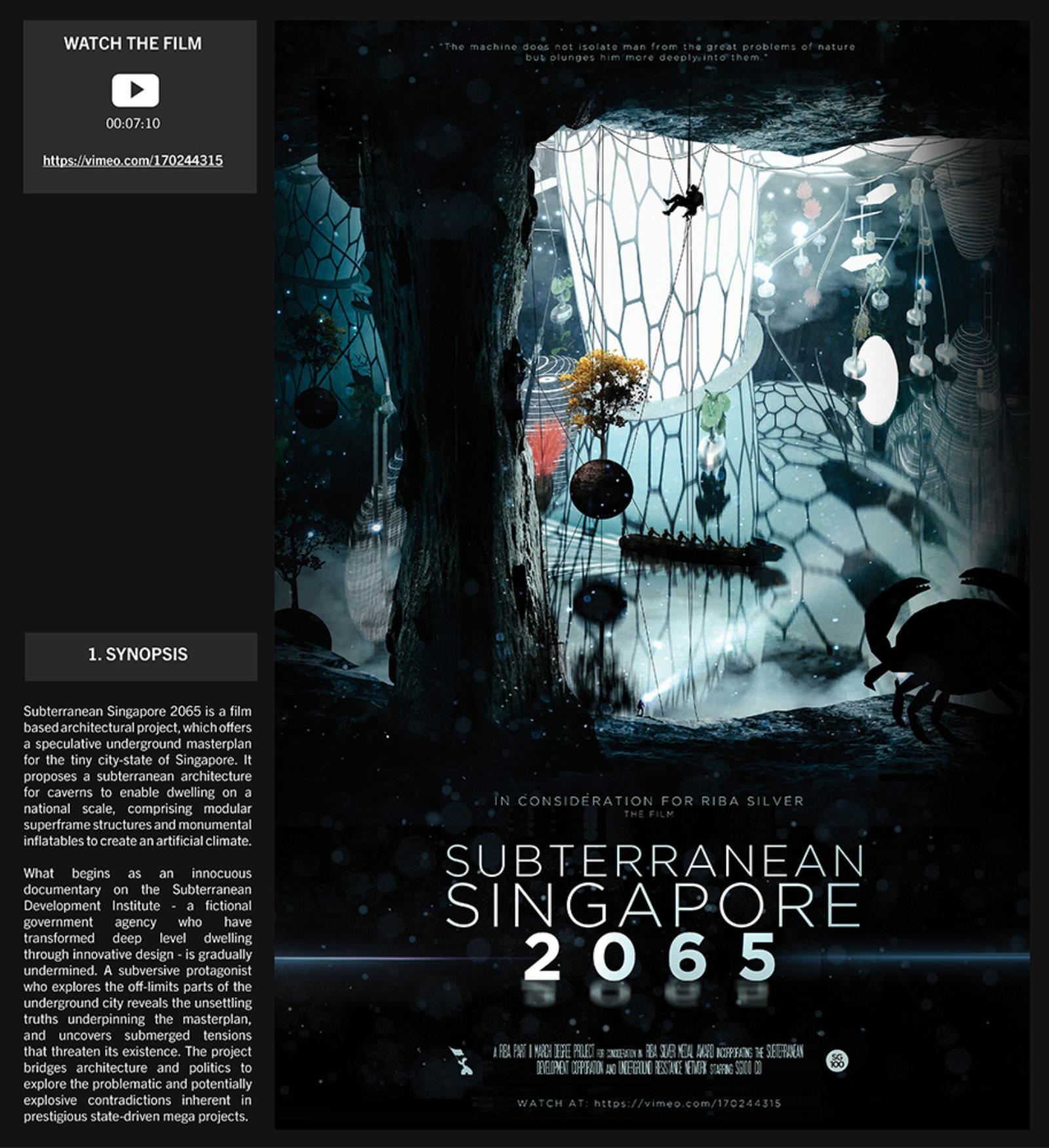 Subterranean Singapore 2065