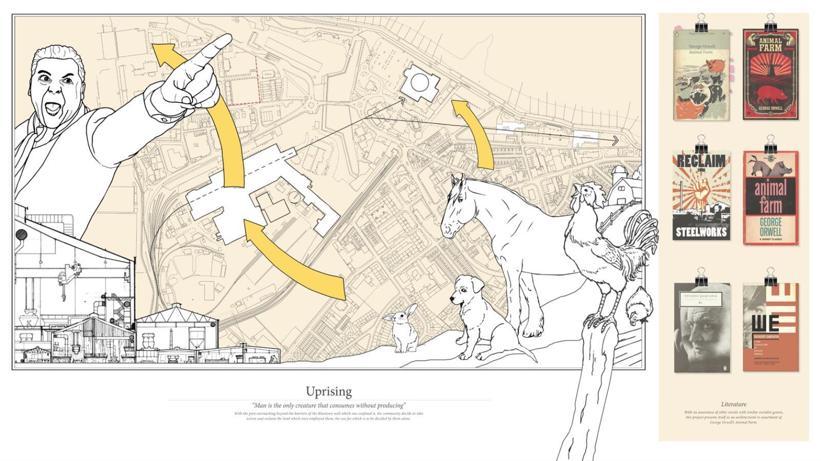 Animal Farm, an Architectural Fairy Story