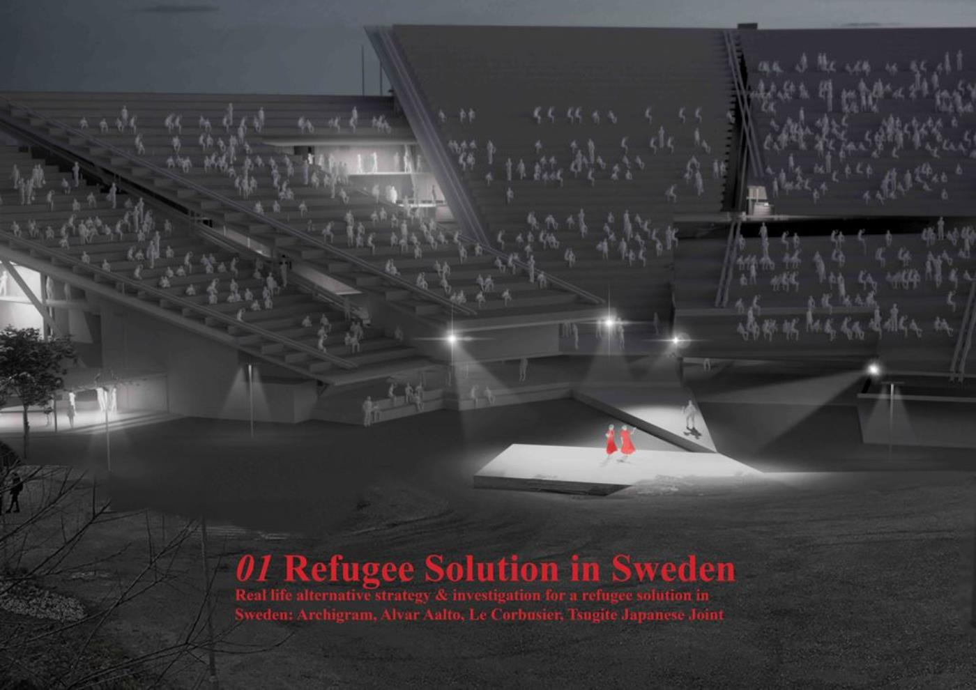 Refugees Solution in Sweden