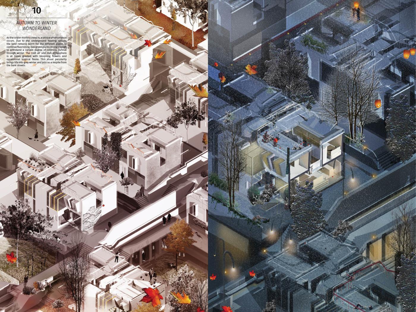Seasonal Dense(cities) – Living Garden Typologies for Future London