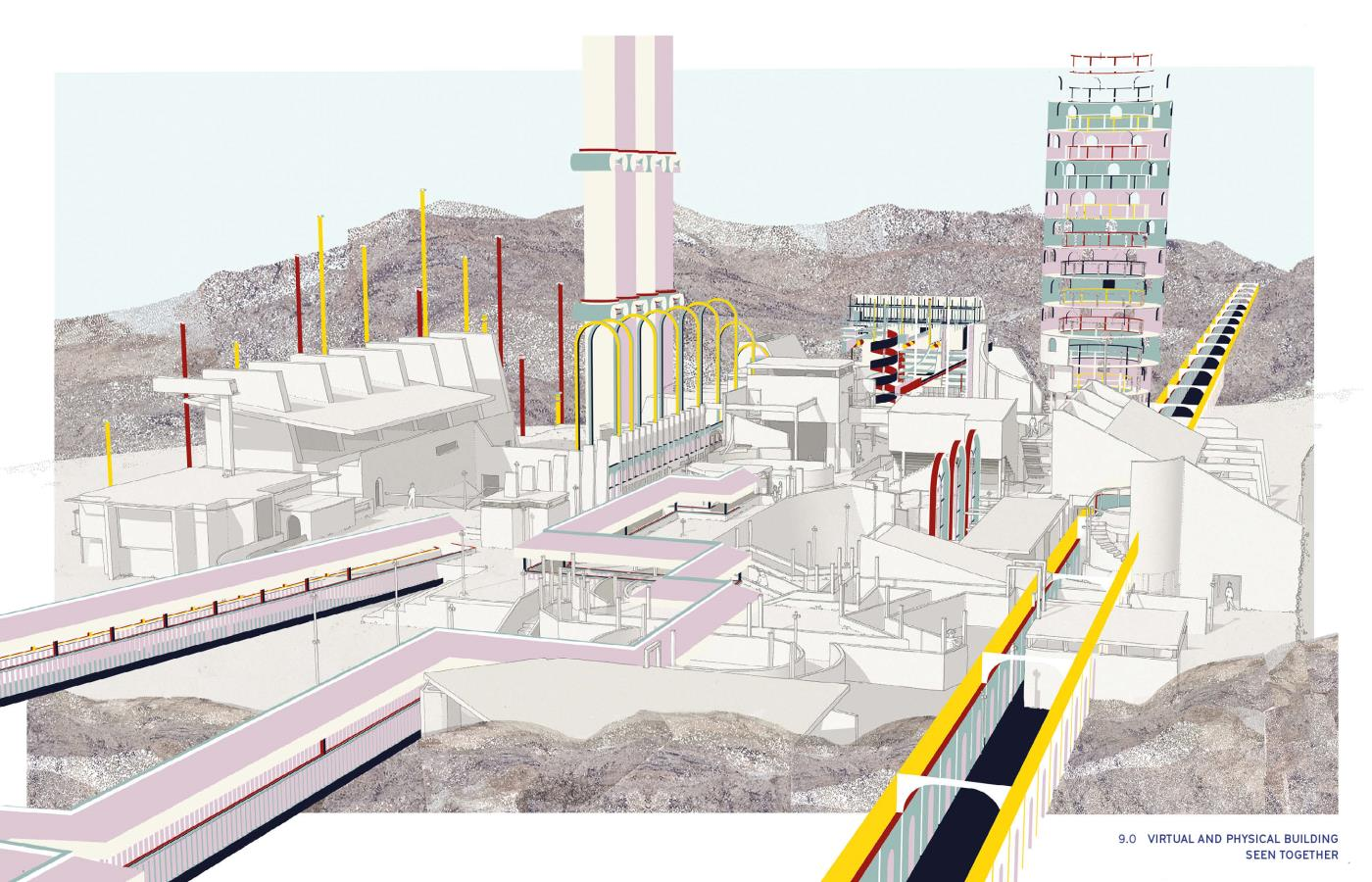 Ascaya City Hall: Constructing a virtual civic image