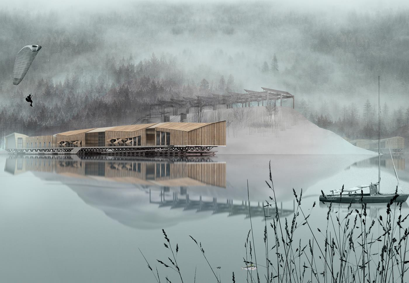 Biological Research Platform_Bicaz Lake