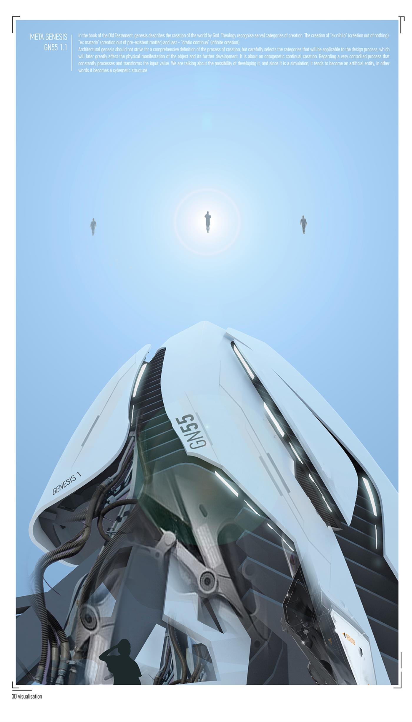 Vertical Multifunctional Center / Genesis