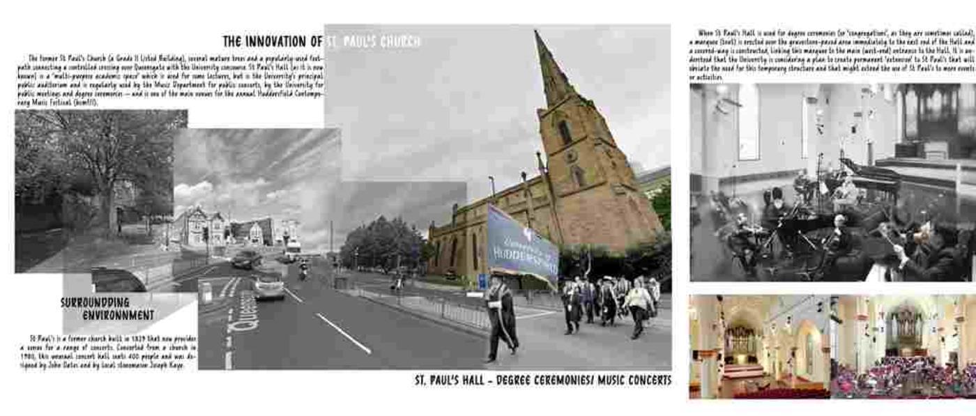 St Paul Hall Conversion, Huddersfield, UK