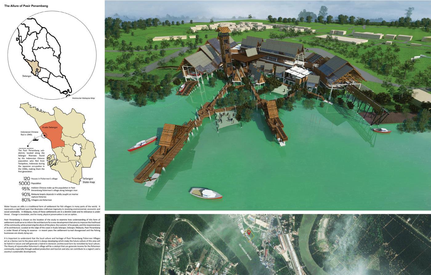The Rejuvenation of Pasir Penambang Fisherman's Village - Proposed Seafood Processing and Fisherman's Communal Centre