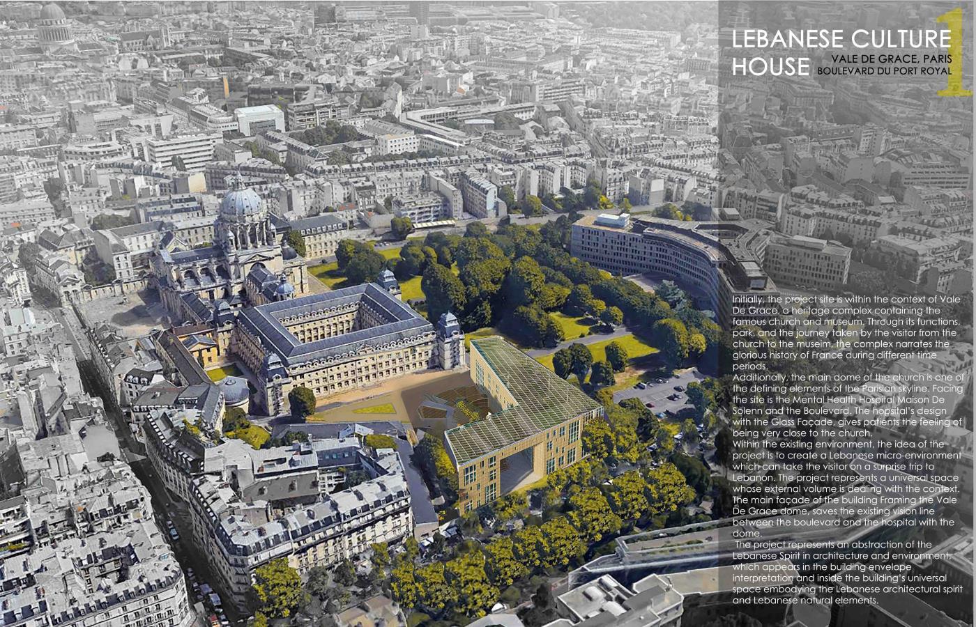 Lebanese Culture House, Paris-France