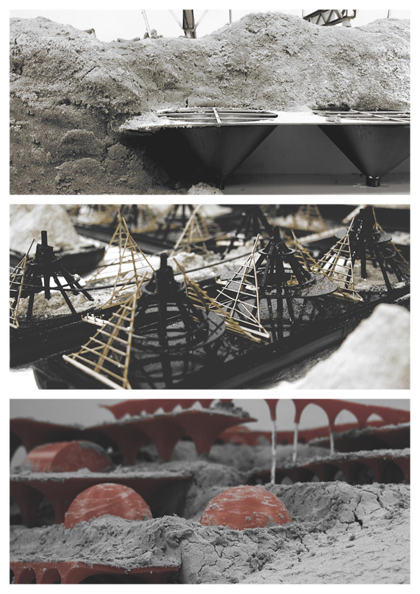 Materialising Sand: The Dunes, The Archipelago, The Beach