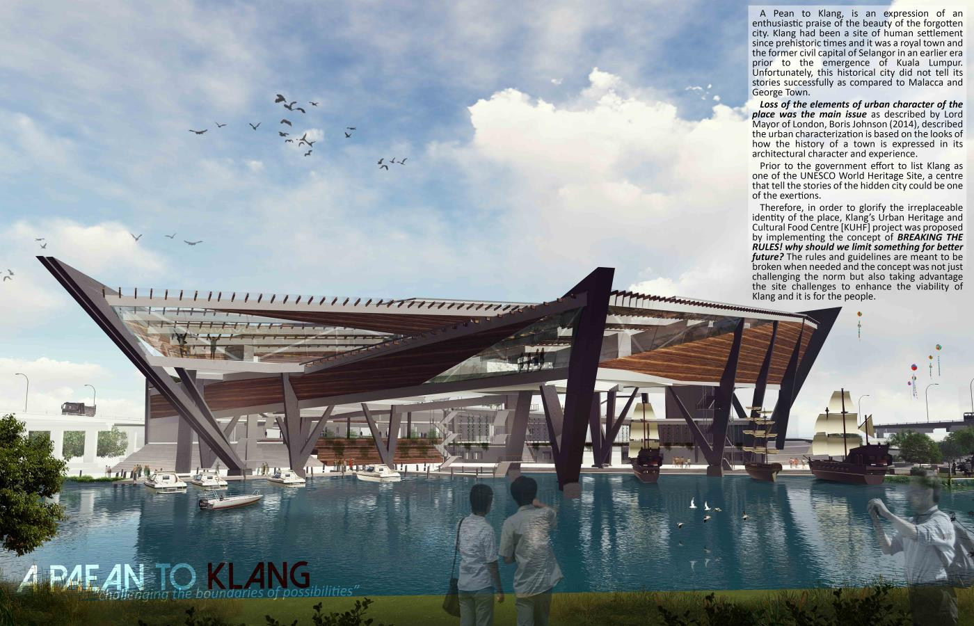 A Paean to Klang: An Urban Heritage and Cultural Food Centre [KUHF]