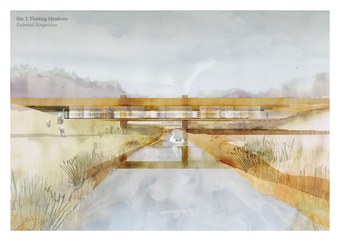 Building as a Function of The Landscape: Reinstating and Recovering Industry Along Seaton Burn