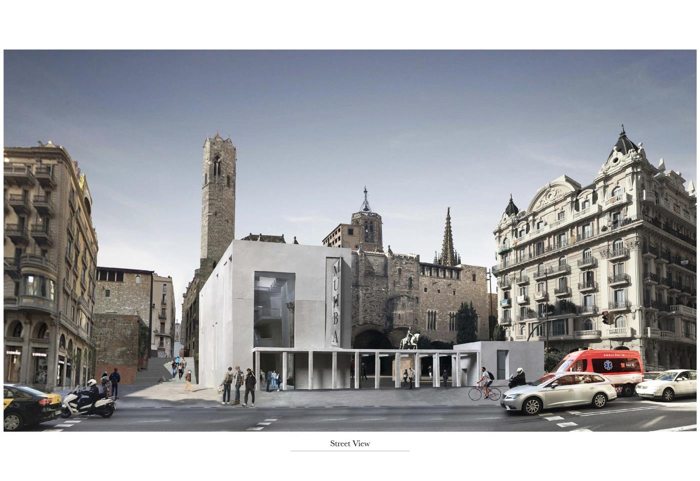 City Thresholds: Defining an Entrance to Museu d'Història de Barcelona