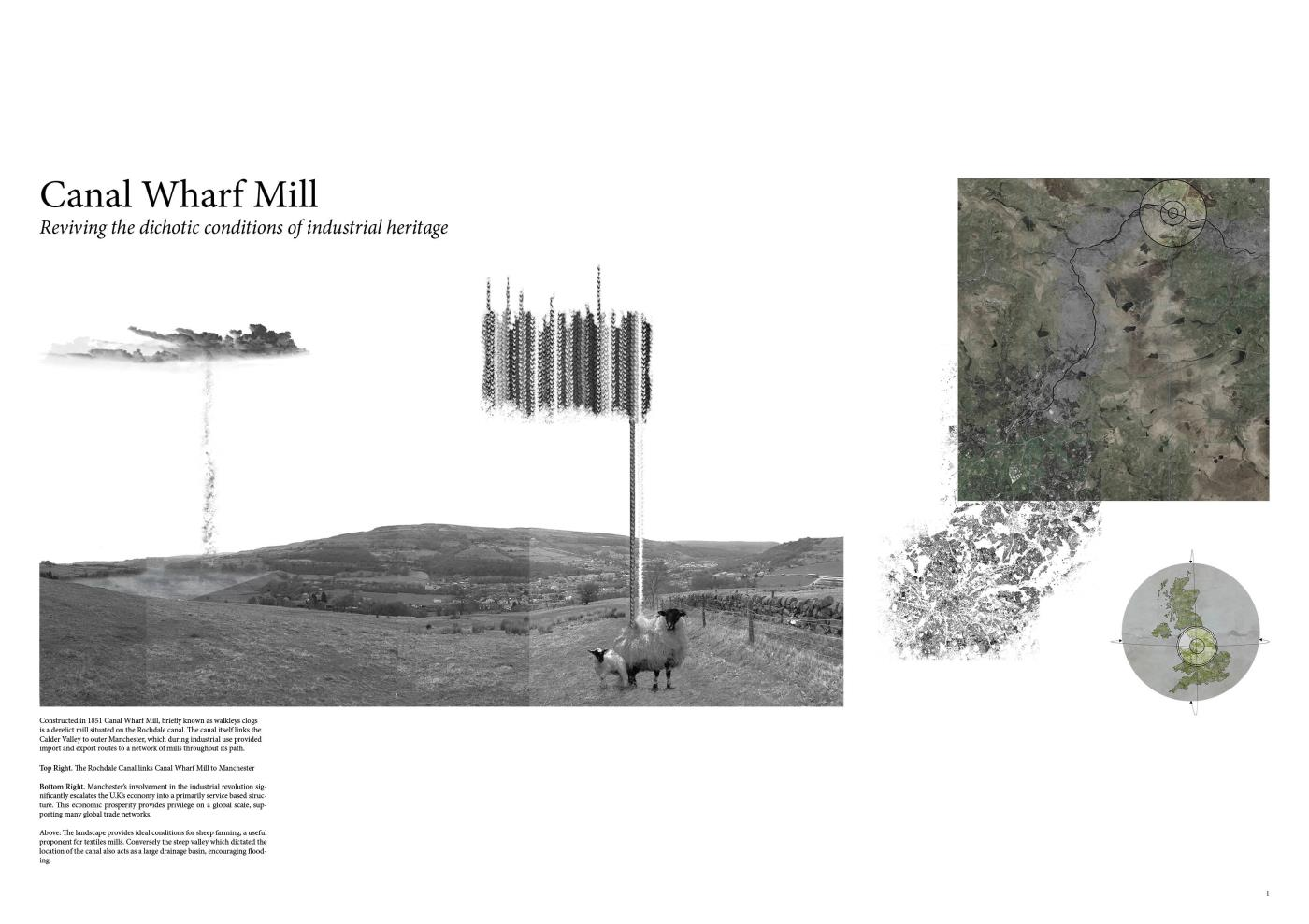 Canal Wharf Mill: Re-activating the Dichotic Conditions of Industrial Heritage