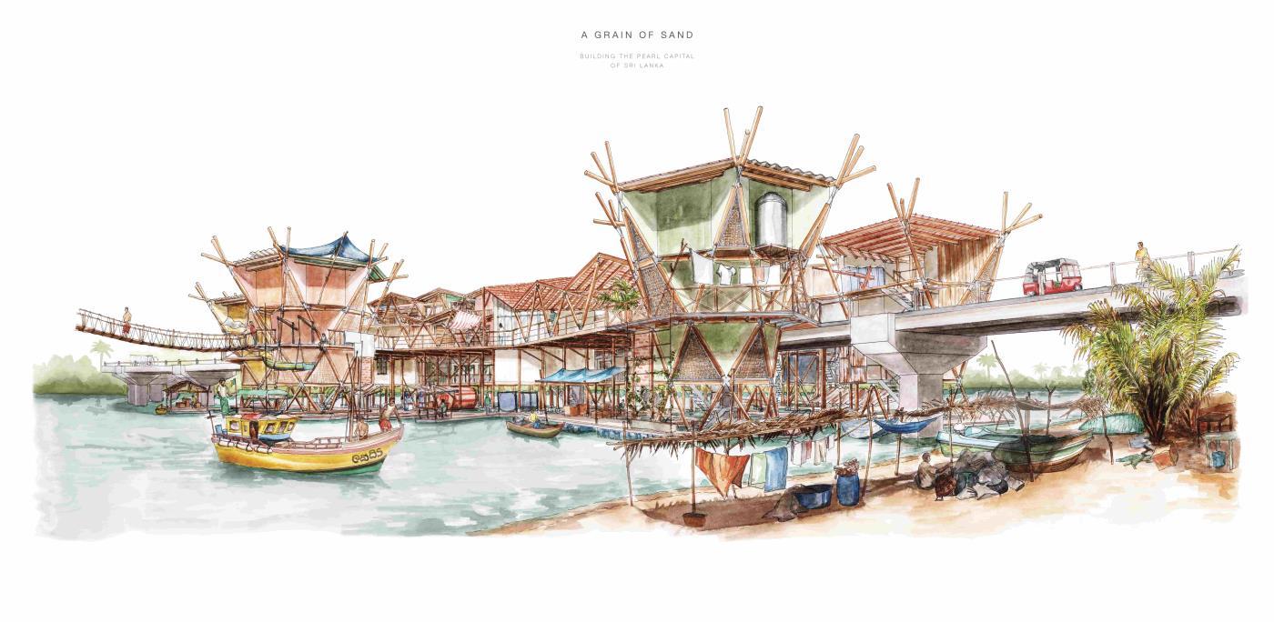 A Grain of Sand: Building the Pearl Capital of Sri Lanka