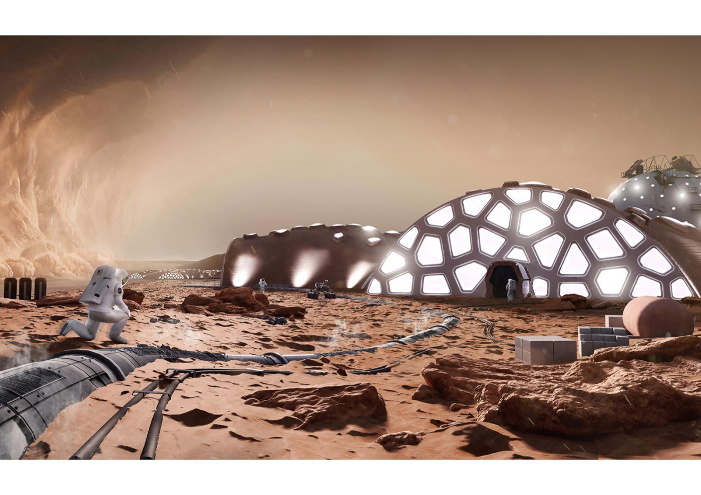 A New Hope - Modular Structures For Habitation On Mars