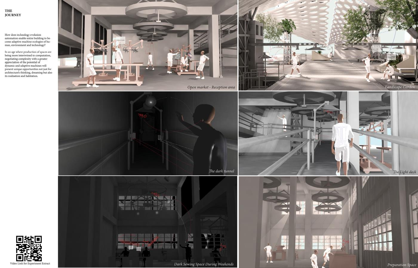 Human-Machine-Environment Ecology: An Experimental Interactive Factory for the Blind in Tokwawan