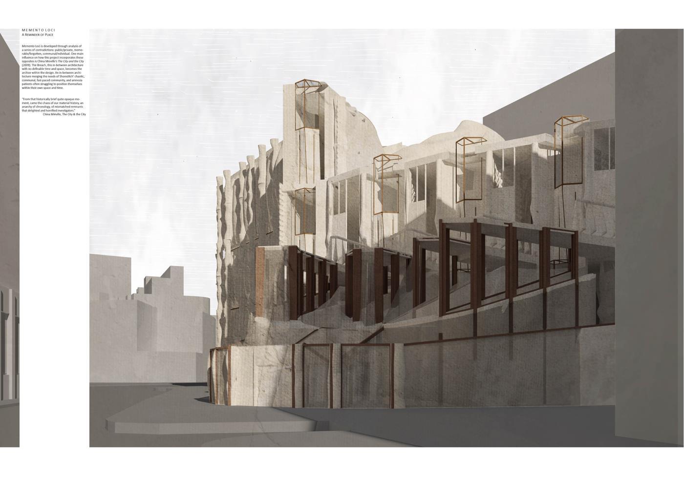Memento Loci – Shoreditch Centre for Arts and Amnesia