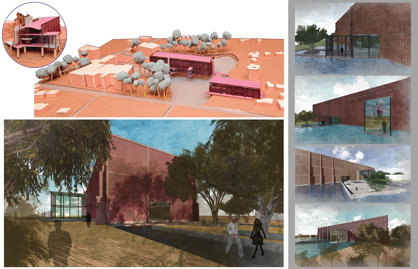 Earth Institute - A centre for Innovation of Terracotta and Earth Building Craft
