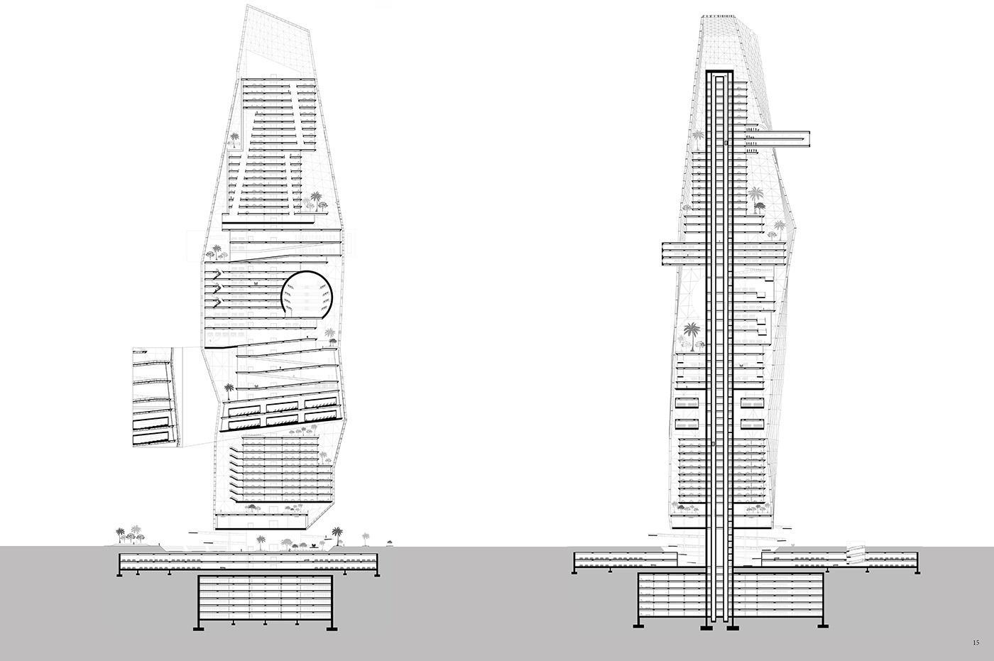 The Jewel Skyscraper: Towards a Transparent City