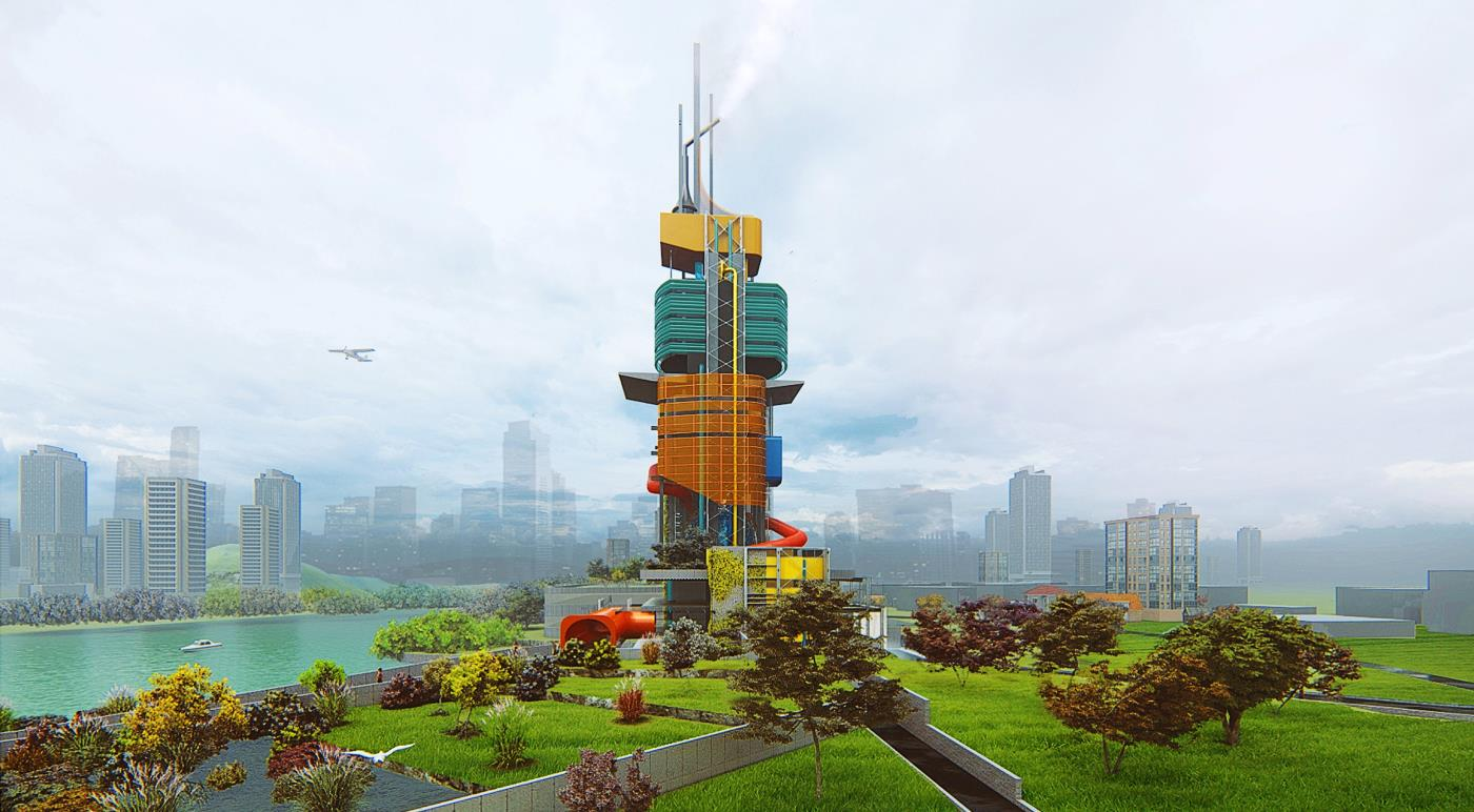 Hydroscraper - Water Purification Plant to Regenerate and Recover Urban Wetlands